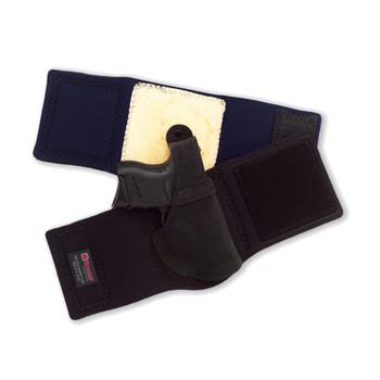 GALCO Ankle Lite S&W J Frame Right Hand Black Ankle Holster (AL160B)