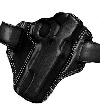 GALCO Combat Master S&W L Frame 686 4in Right Hand Leather Belt Holster (CM104B)
