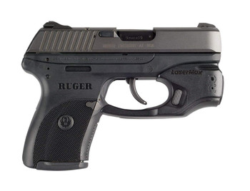 LASERMAX Ruger Red CenterFire Light and Laser with GripSense (CF-LC9-C-R)
