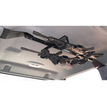 GREAT DAY Center-Lok Overhead 2 Gun Rack for Tactical Weapons (CL1502T)