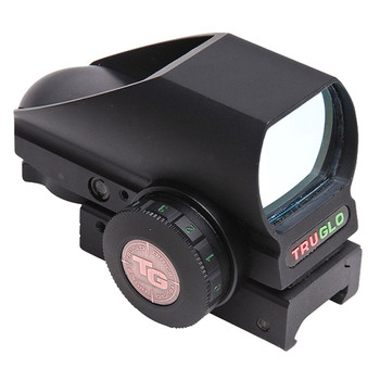 TRUGLO Multi Color Reticle Open Red Dot Sight, Clamshell Pack (TG8380B)