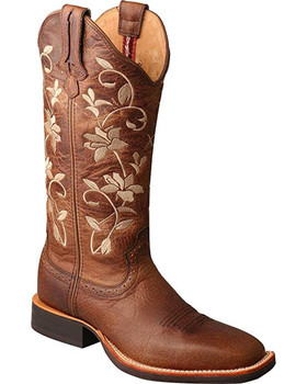 TWISTED X Womens Ruff Stock Oiled Bomber/Oiled Bomber Boot (WRS0025)
