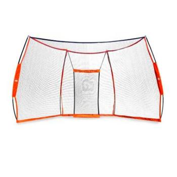 BOWNET 17.6' x 9.6' Portable Backstop Net (Bow-Backstop)