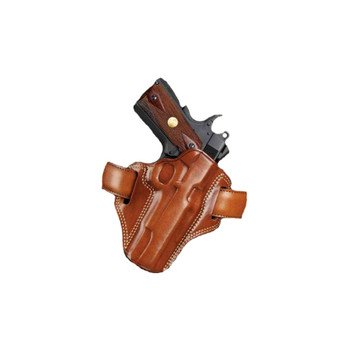 GALCO Combat Master S&W L Frame 686 4in Right Hand Leather Belt Holster (CM104)