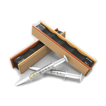 WICKED EDGE 1/0.5 Micron Diamond & Leather Strops Pack (WE010.5)