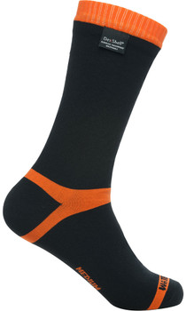 DEXSHELL Hytherm Pro Tangelo Red Stripe Socks (DS634)