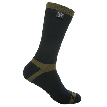DEXSHELL Trekking Olive Green Stripe Socks (DS636)