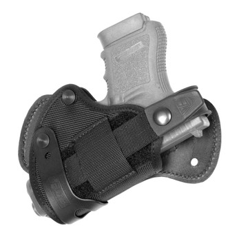 ELITE SURVIVAL SYSTEMS Advanced Size 4 RH Back Holster for Glock, Sig Sauer, Beretta (ASBH-4-RH)