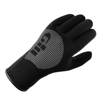 GILL Neoprene Winter Black Gloves (7672B)