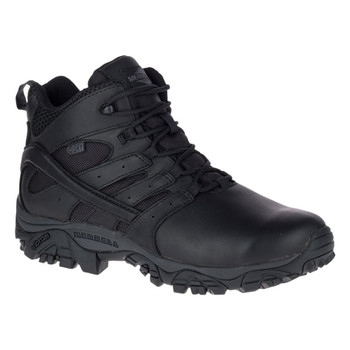MERRELL Mens Moab 2 Mid Response Waterproof Black Boot (J45337)