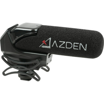 AZDEN SMX-15 Powered Shotgun Video Microphone (SMX-15)