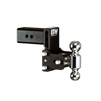 B&W Tow & Stow 4.5in Drop 4in Rise 2x2 5/16in Dual Ball Size Hitch (TS30037B)