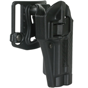 BLACKHAWK Serpa CQ Glock 17 RH Black Belt Holster (410000BK-R)