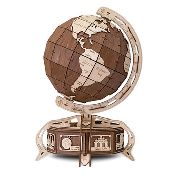 ECO WOOD ART The Globe 393-Piece 3D Puzzle