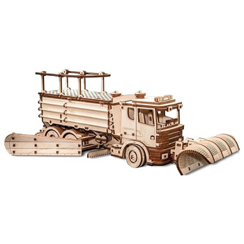 ECO WOOD ART Snowtruck 417-Piece 3D Puzzle