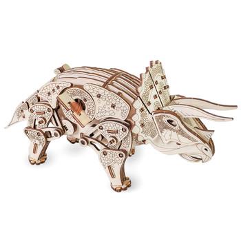 ECO WOOD ART Triceratops 283 Piece 3D Puzzle