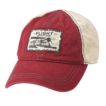 FLIGHT OUTFITTERS Seaplane Red Hat (FO-SPH100-R)