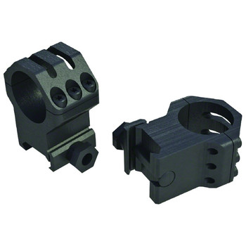 WEAVER Tactical 6 Hole 1in High Scope Rings (99689)