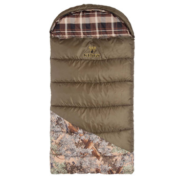 KINGS CAMO Hunter Jr Sleeping Bag with Backpack (KCGK6025-DS)