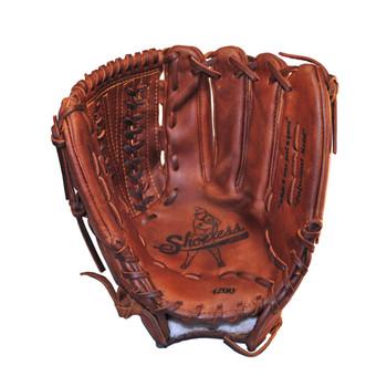 SHOELESS JOE BALLGLOVES 12in V-Lace Left Hand/Right Hand Throw Glove (1200VLL)