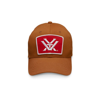 VORTEX Mens Red Patch Cap (119027-CHT)