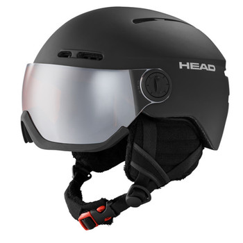 HEAD Knight Black Skiing Helmet (324118)