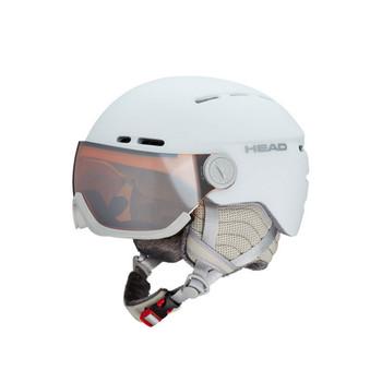 HEAD Women's Queen Skiing Protective White Helmet (325008)