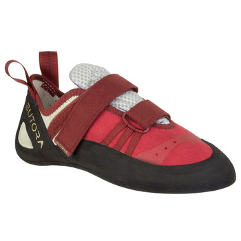 BUTORA Women's Endeavor Crimson Wide Fit Climbing Shoe (ENDE-CRIM-WF-W)