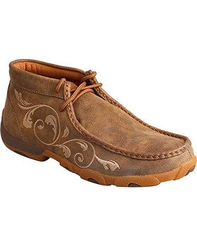 TWISTED X Womens Driving Bomber Moccasins (WDM0041)