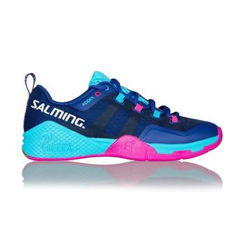 SALMING Womens Kobra 2 Limoges Blue/Pink Jewel Shoe (1238081-0351)
