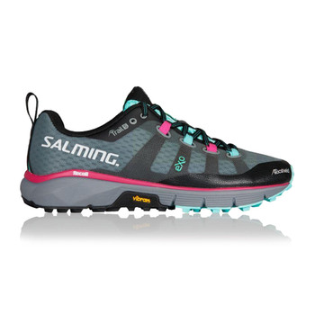 SALMING Womens Trail 5 Grey/Black Shoe (1288058-1001)