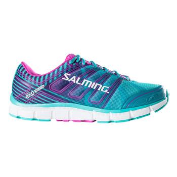 SALMING Womens Miles Ceramic Green/Azalea Pink Shoe (1287039-6753)