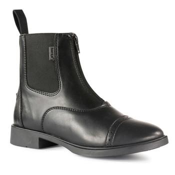 HORZE Wexford Women's Front Zip Paddock Black Boots (38236-BL)
