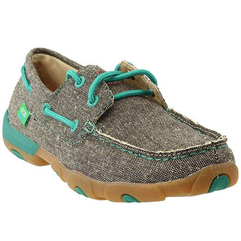 TWISTED X Womens ECO TWX Driving Dust Moccasins (WDM0085)