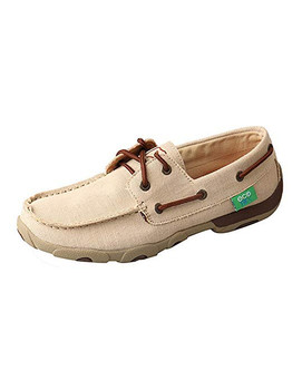 TWISTED X Womens ECO TWX Driving Tan Moccasins (WDM0086)