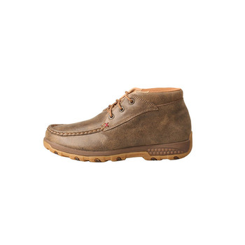 TWISTED X Womens Chukka Bomber Driving Moc with CellStretch (WXC0001)