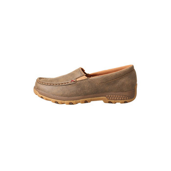 TWISTED X Womens Slip-On Bomber Driving Moc with CellStretch (WXC0004)