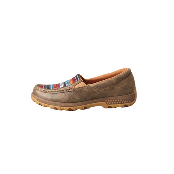 TWISTED X Womens Slip-On Bomber/Multi Driving Moc with CellStretch (WXC0005)