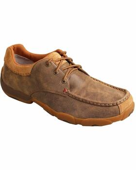 TWISTED X Mens Driving Bomber Moccasins (MDM0045)