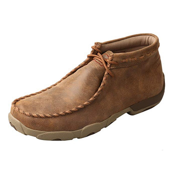 TWISTED X Mens Driving Bomber Moccasins (MDM0049)