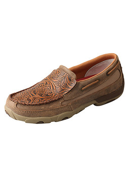 TWISTED X Slip-On Driving Bomber Moccasins (WDMS018)
