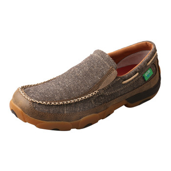 TWISTED X Mens Eco TWX Slip-On Driving Dust Moccasins (MDMS012)