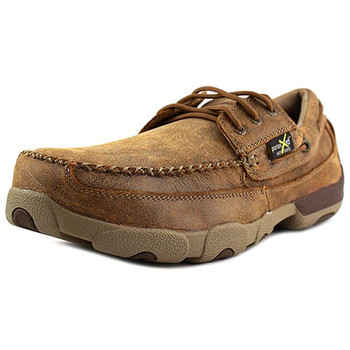 TWISTED X Mens Driving Bomber Moccasins (MDMSTM1)