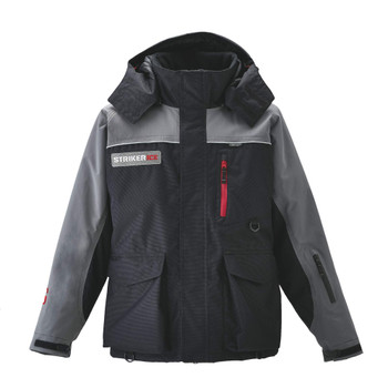STRIKER ICE Trekker Black/Gray Jacket (11305)