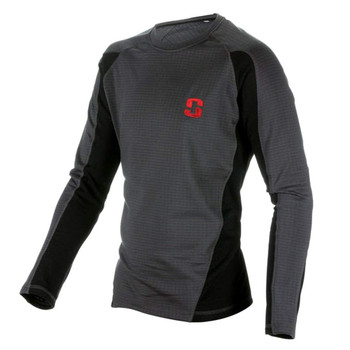 STRIKER Ice Polar Base Black/Gray Shirt (61600)