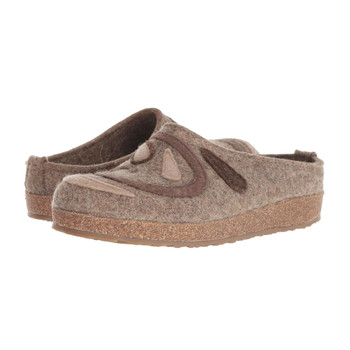 HAFLINGER Women's Harmony Natural Felt Clogs (731067-246)