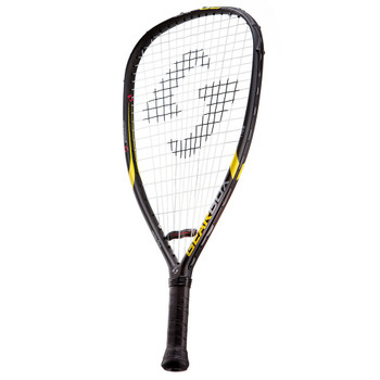 GEARBOX GB-125 3-5/8in Black/Yellow Racquet (16R01-1)