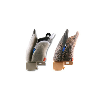AVERY Pair of Over-Size Mallard Up Feeder Decoys (71000)