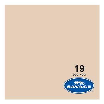 SAVAGE UNIVERSAL 86in x 12Yd Widetone Egg Nog Seamless Paper (19-86)