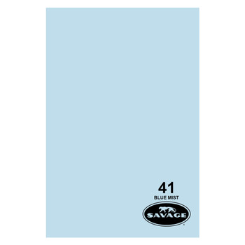 SAVAGE UNIVERSAL 86in x 12Yd Widetone Bluemist Paper (41-86)